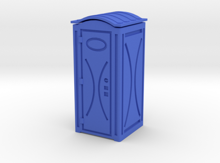 Chemical Toilette (1/43) 3d printed