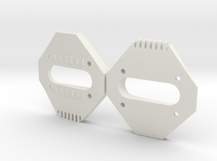 7° Wedges for SPD Cleats 3d printed