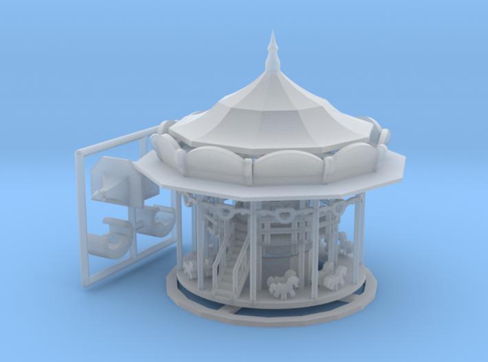 Doppelstock - Antrieb VER2 - 1:220 (Z scale) 3d printed