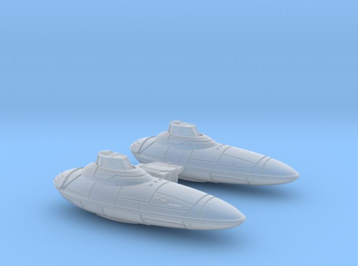 StormIV-cloudcar 1/270 3d printed