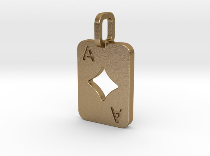 Ace of Diamonds Card 3d printed