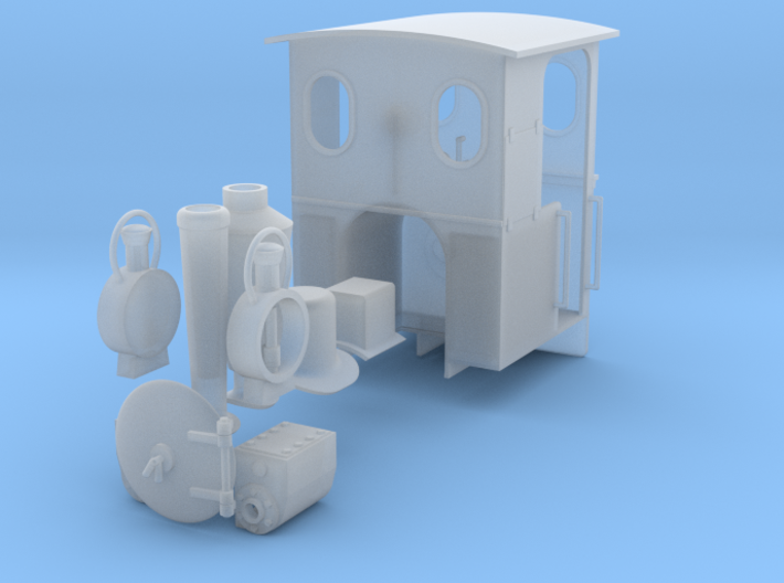 O&K loco kit 3d printed