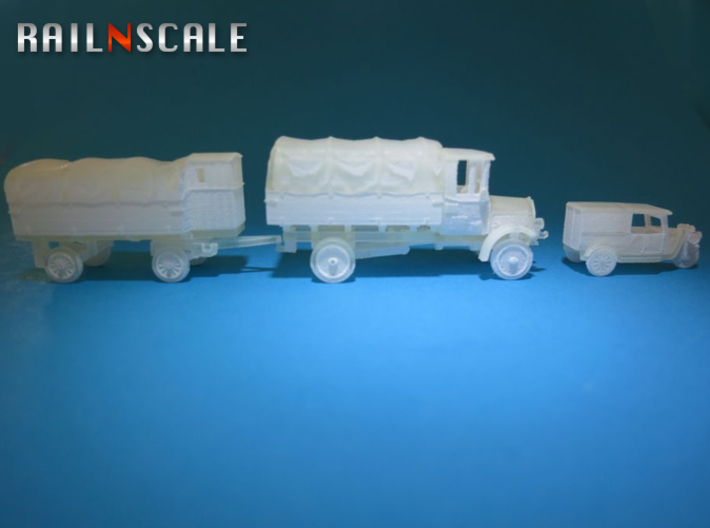 Super set 'Schultheiss-Patzenhofer' (N 1:160) 3d printed