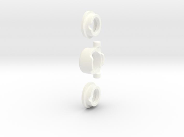 E-MAXX 1/8 Hybrid Differentials KIT (Rear) AL 3d printed