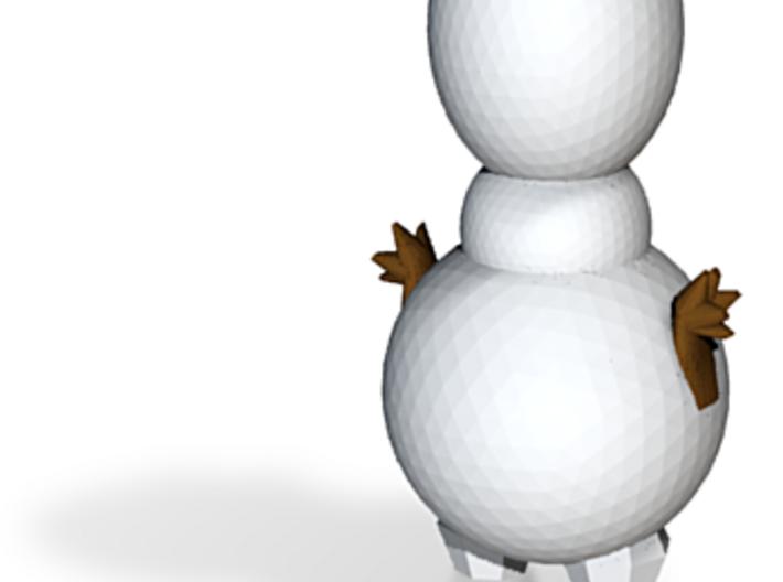 Snowman3 50mm 3d printed
