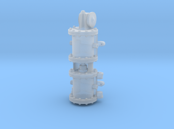 1:48 Westinghouse Air Compressor On3/On30 3d printed