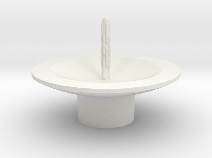 Zierbrunnen schalenförmig mit 1 Fontaine 3d printed