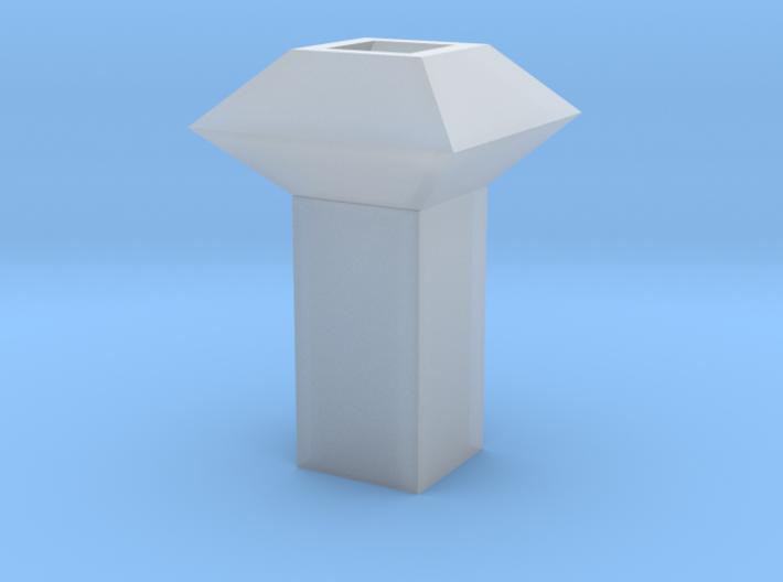 Dachlüfter 1 modern 1:120 3d printed