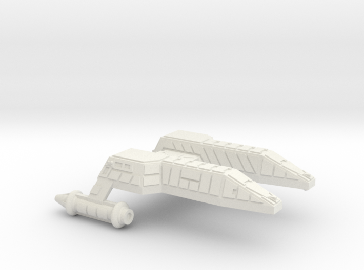 3125 Scale Lyran Leopard Destroyer (DD) CVN 3d printed