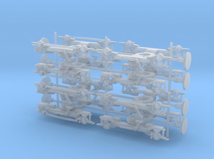 Class 378 Bogies 3d printed