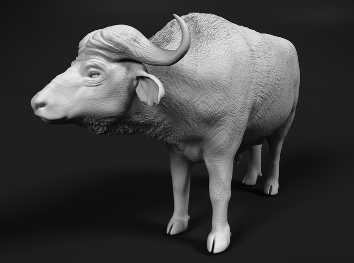 Cape Buffalo 1:87 Standing Male 1 3d printed