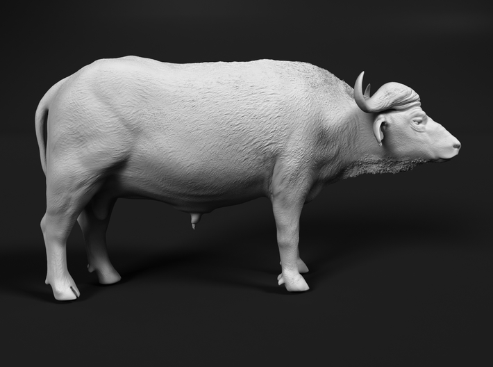 Cape Buffalo 1:76 Standing Male 1 3d printed