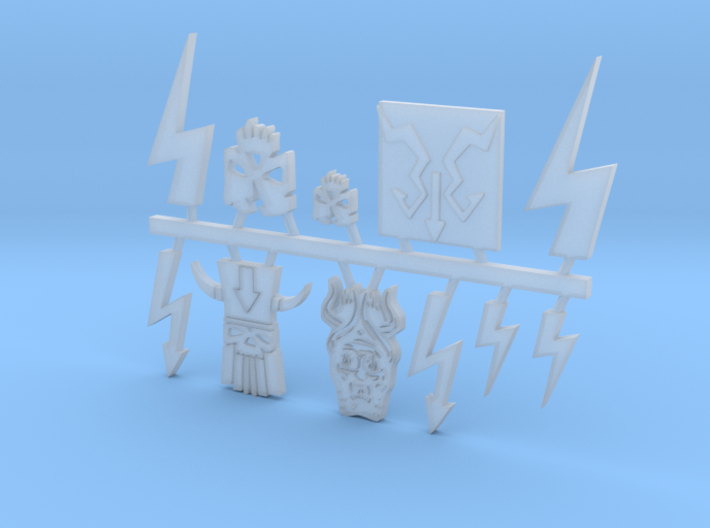 Sample Sprue 3d printed