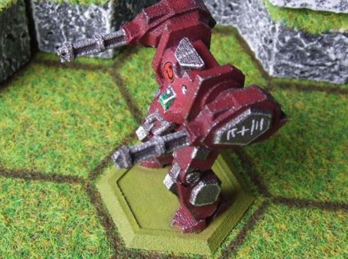 Mecha- Hunter Pose 2 (1/285th) 3d printed Painted WSF