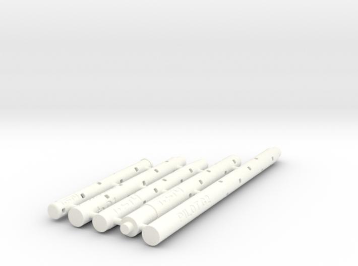 Adapters: Multiple Gel To D1 Mini 3d printed