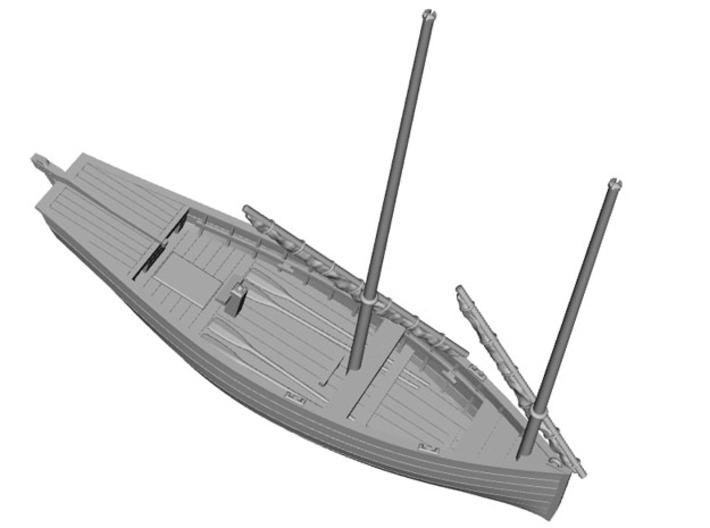 HObat50 - Old fishing boat 3d printed