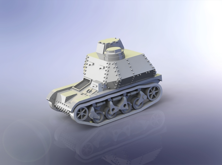 German Beobachtungspanzer AMR 35 1/144 3d printed
