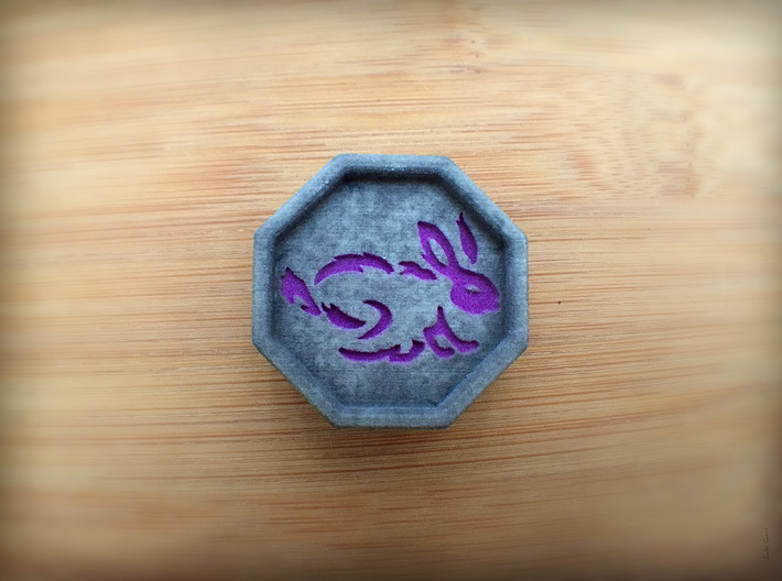 Rabbit Talisman  3d printed