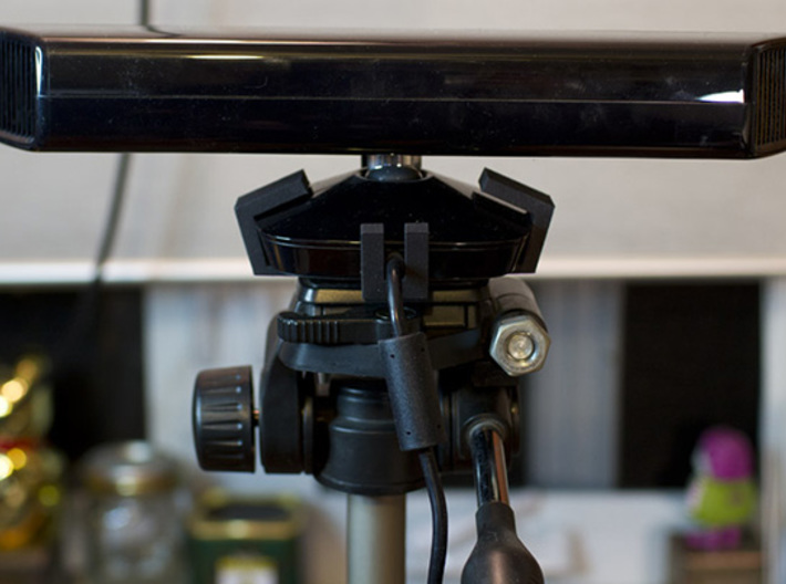 Kinect Tripod Mount 3d printed