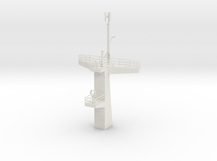 1/96 scale Juniper Main Mast 3d printed