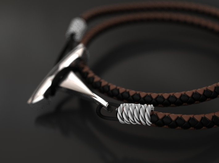 Want Tesla bracelet hook 3d printed