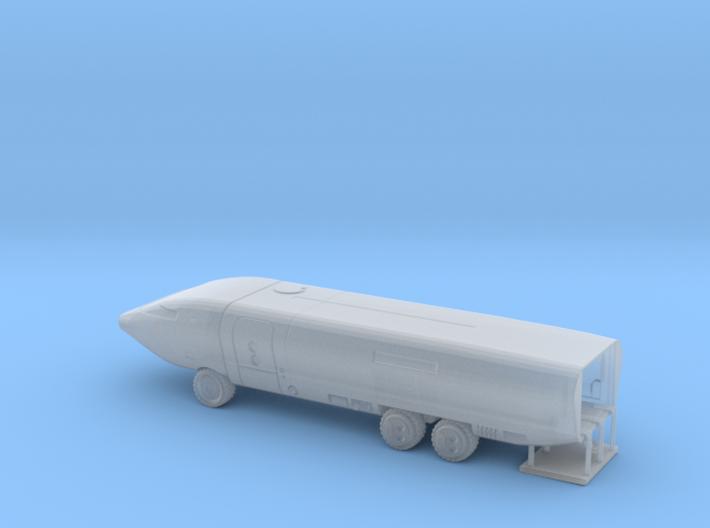 Ark II Mobile Laboratory, Multiple Scales 3d printed