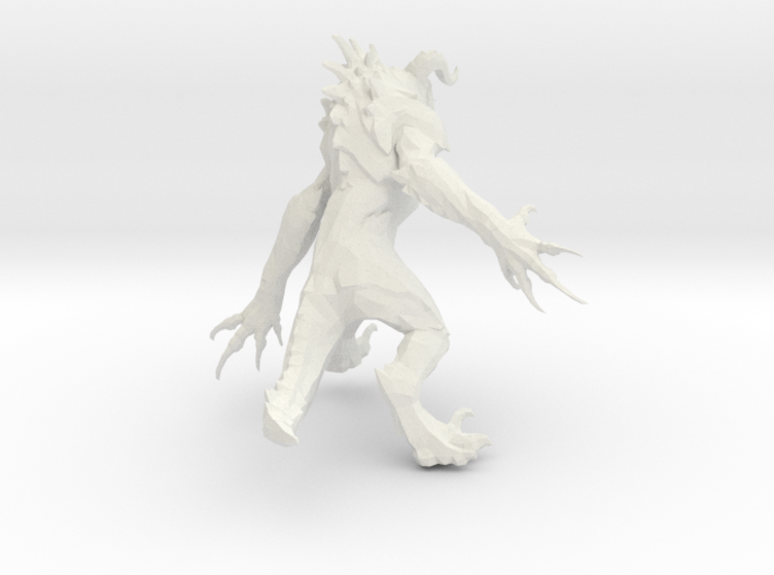 Deathclaw Fallout 4 (Load Screen) 3d printed