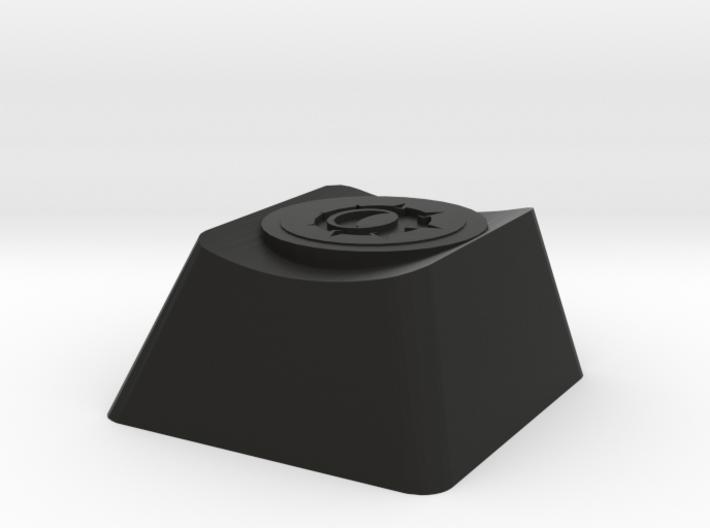 Overwatch Junkrat Rip-Tire Cherry MX Keycap 3d printed