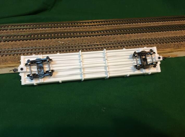 ET&WNC Low Side Gondola 3d printed Pre-production model shown