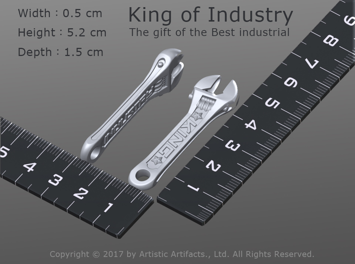 King of Industry - the gift of the best industrial 3d printed