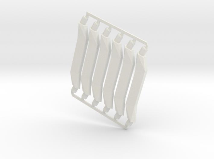 Olive-6-short-sprued 3d printed