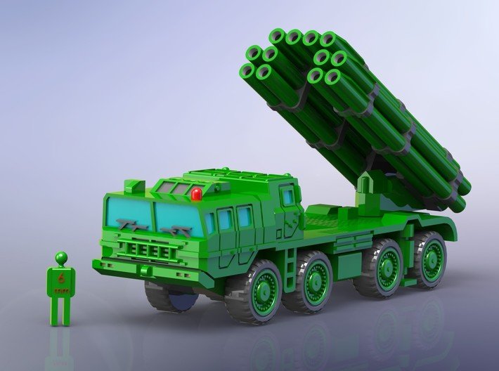 Chinese PHL03 300mm MLRS 1/285 3d printed
