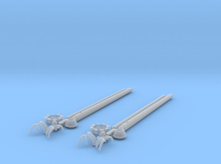 HO/1:87 High Mast Light x2 kit 3d printed [en] kit [de] Bausatz