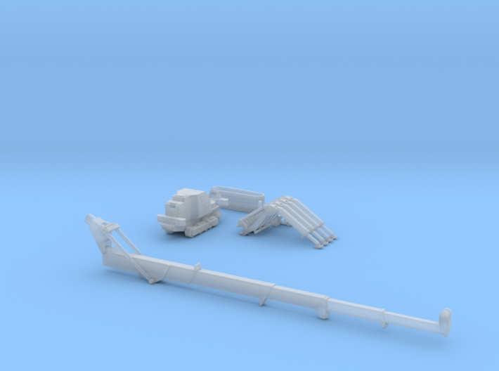 HO/1:87 Mini Crawler Crane Set B kit 3d printed