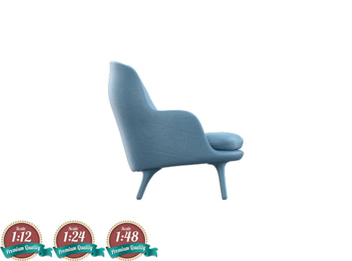 Miniature Fri Lounge Chair - Jaime Hayon 3d printed Miniature Fri Lounge Chair - Jaime Hayon