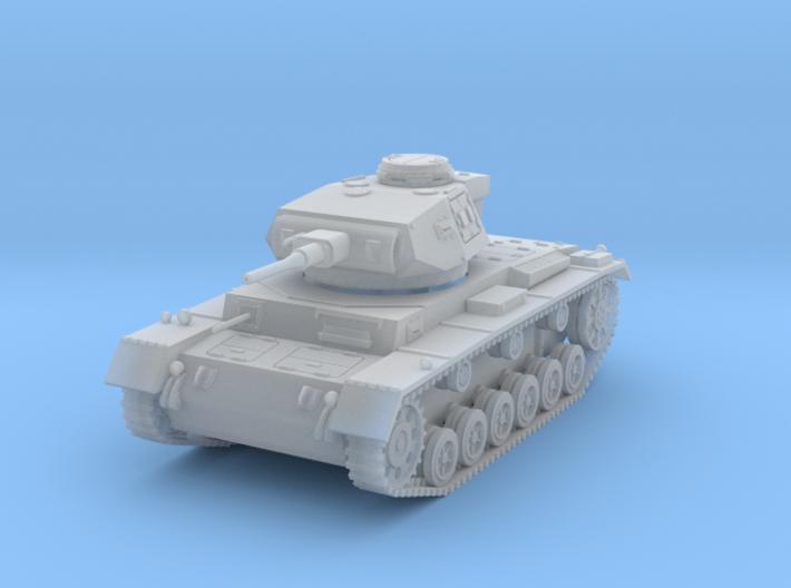 PV156D Pzkw IIIG Medium Tank (1/120) 3d printed