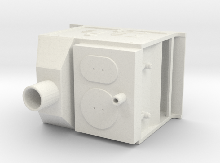 Ships Stove 1:4%22 scale 3d printed