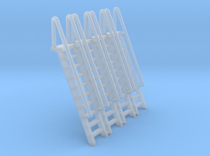 N Scale Ladder 10 (4pc) 3d printed