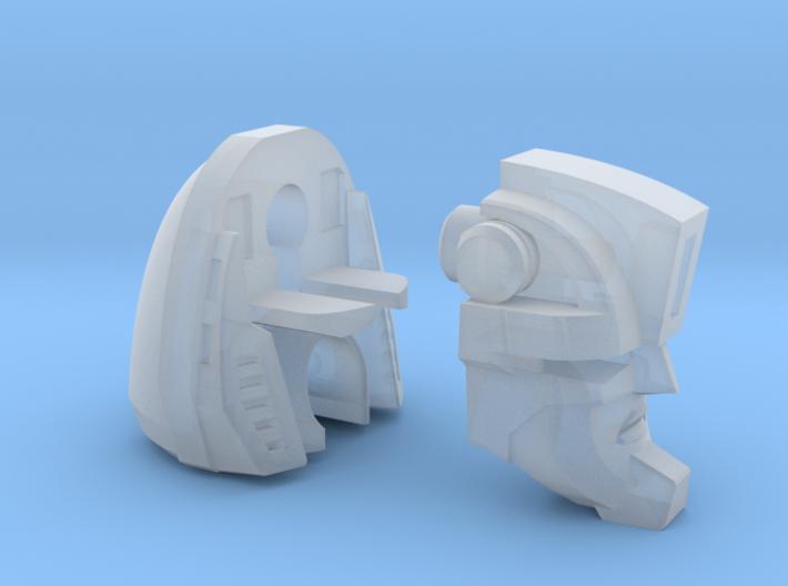 "Phantom Racer Head ""Spotlight"" 3d printed"