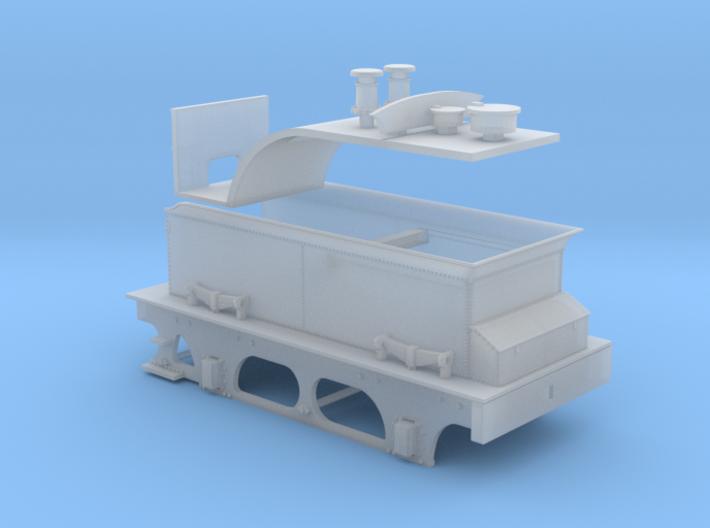 Furness D1 & E1 Tender - FUD/FXD 3d printed