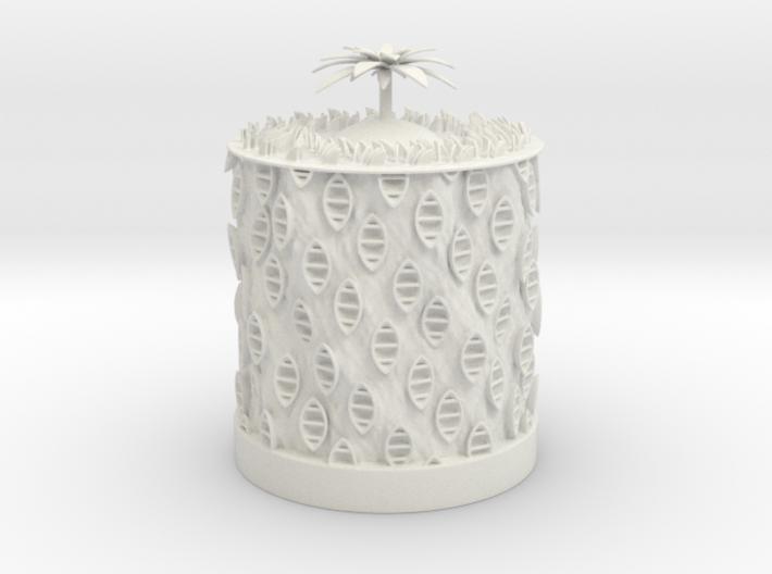 Ocean Bloom zoetrope 3d printed