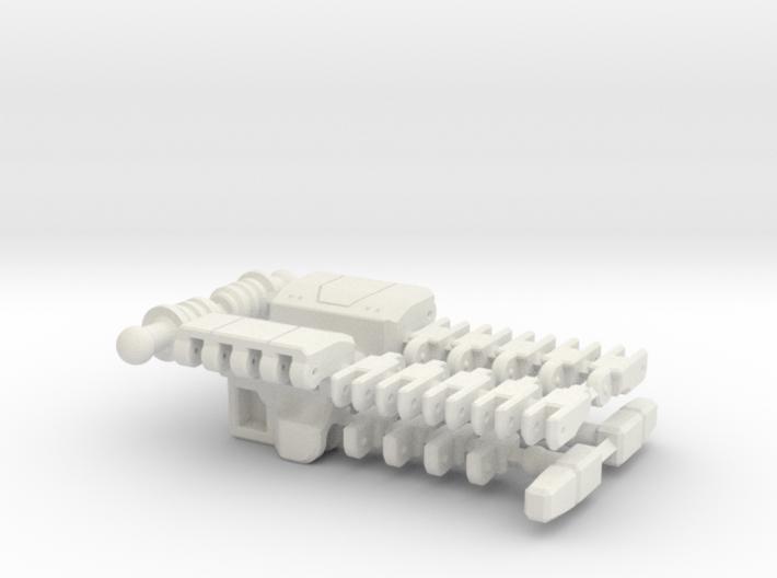 MP Seeker hands (peg wrist variant) 3d printed