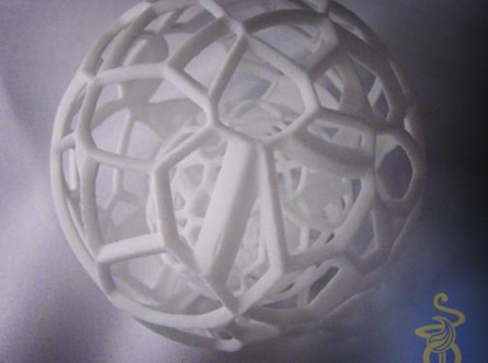 Sphere within a sphere within a sphere 3d printed 3