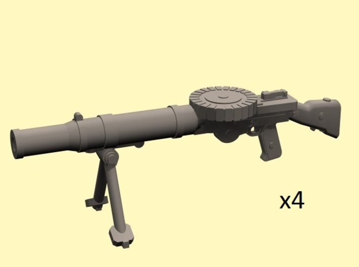 28mm Lewis machine guns (4) 3d printed