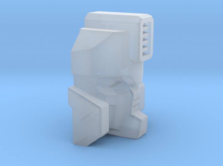 Rockdriller Guardian face for Titans 3d printed