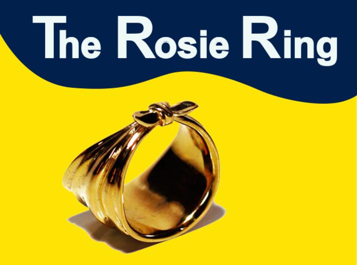 The Rosie Ring 3d printed