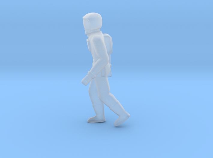tiny space person 3 3d printed