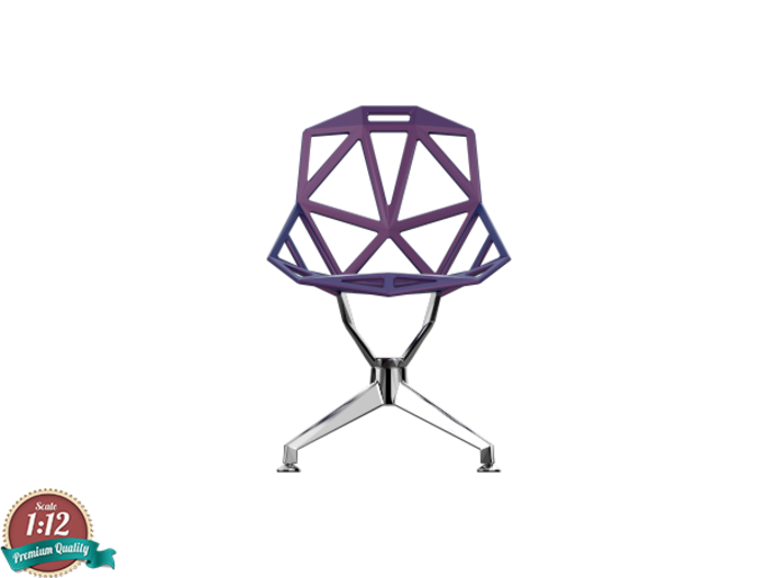 Miniature Chair One Four Star Base Chair  3d printed Miniature Chair One Four Star Base Chair