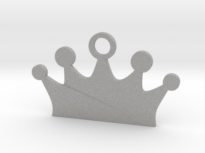 Customizable Crown Pet Tag 3d printed