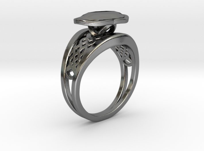 Pappus Curve Twin Ring 3d printed Pappus Curve Twin Ring